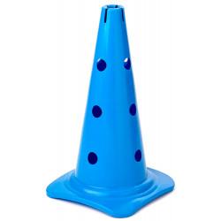 Cône 12 trous, coloris bleu
