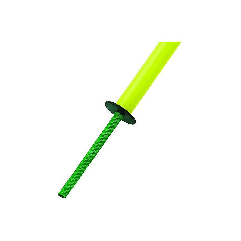 Embout de protection pour les pointes en acier des piquets