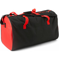 Sac de Sport Maxi, coloris noir et rouge