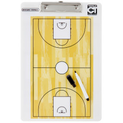 Carnet Tactic Basketball, recto