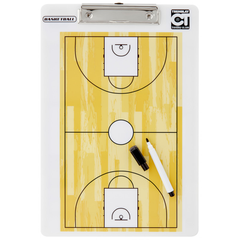 Carnet Tactic Basketball, recto