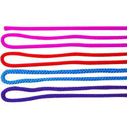 Corde à sauter sans poignées longueur 2 m