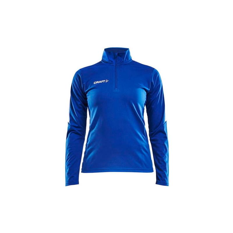 Sweat 1/4 de zip Femme Progress Craft bleu roi