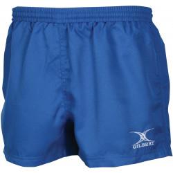 Short rugby Gilbert Saracen coloris bleu roi