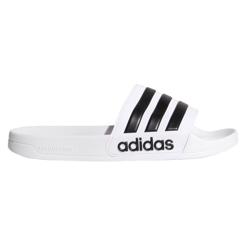 Sandales de douche Adidas Adilette Shower blanc noir