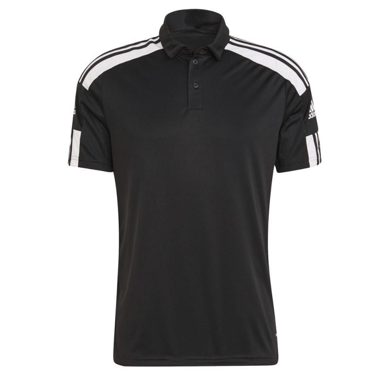 Polo ADIDAS Squadra 21 noir et blanc de face
