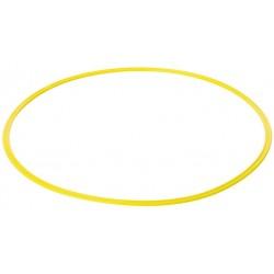 Cerceau plat 70 cm jaune