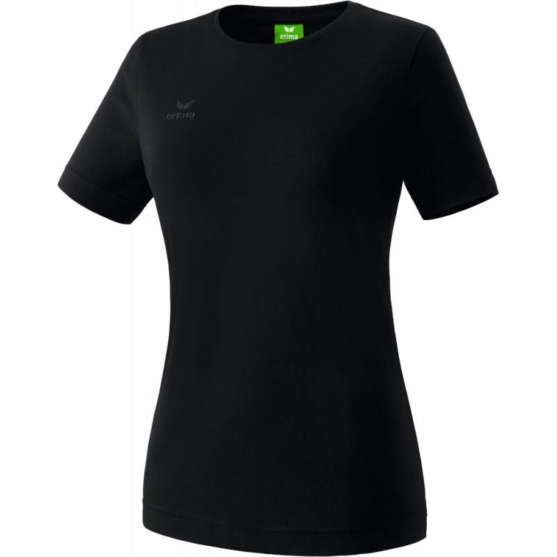 Tee-shirt ERIMA Teamsport femme, couleur noir
