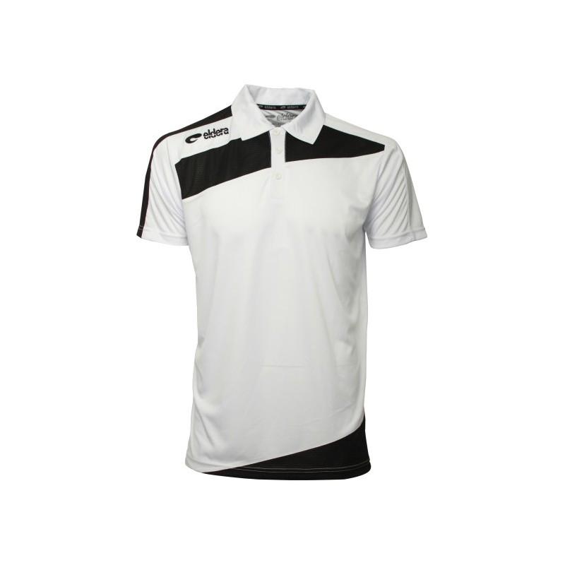 Polo ELDERA Prestige blanc et noir