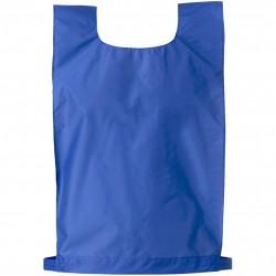 Chasuble nylon velcro bleue - Chasuble sport