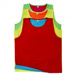 Chasuble réversible Rugby coloris
