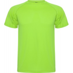 Tee Shirt Montecarlo coloris vert flash