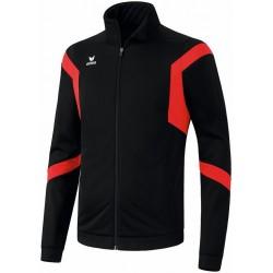 Veste de survêtement club Erima Classic Team noir et rouge