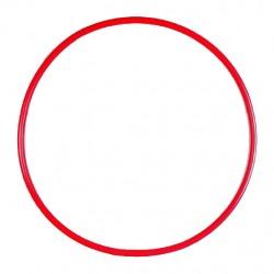 Cerceau rond 75 cm rouge