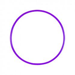 Cerceau rond 50 cm violet
