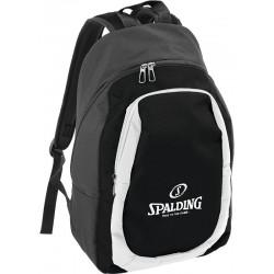 Sac à dos Essential Spalding noir/blanc