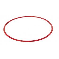 Cerceau plat 60 cm rouge