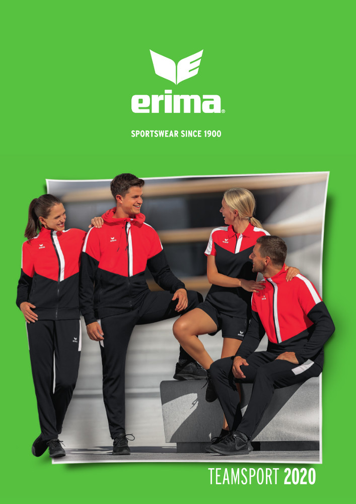 Catalogue Erima 2020 | Catalogue Erima En Ligne | CLUB-SHOP.fr