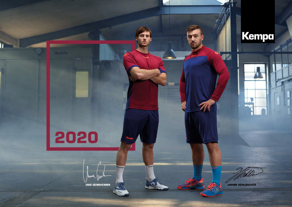 Catalogue Kempa Handball | Catalogue Kempa 2020 | CLUB-SHOP.fr