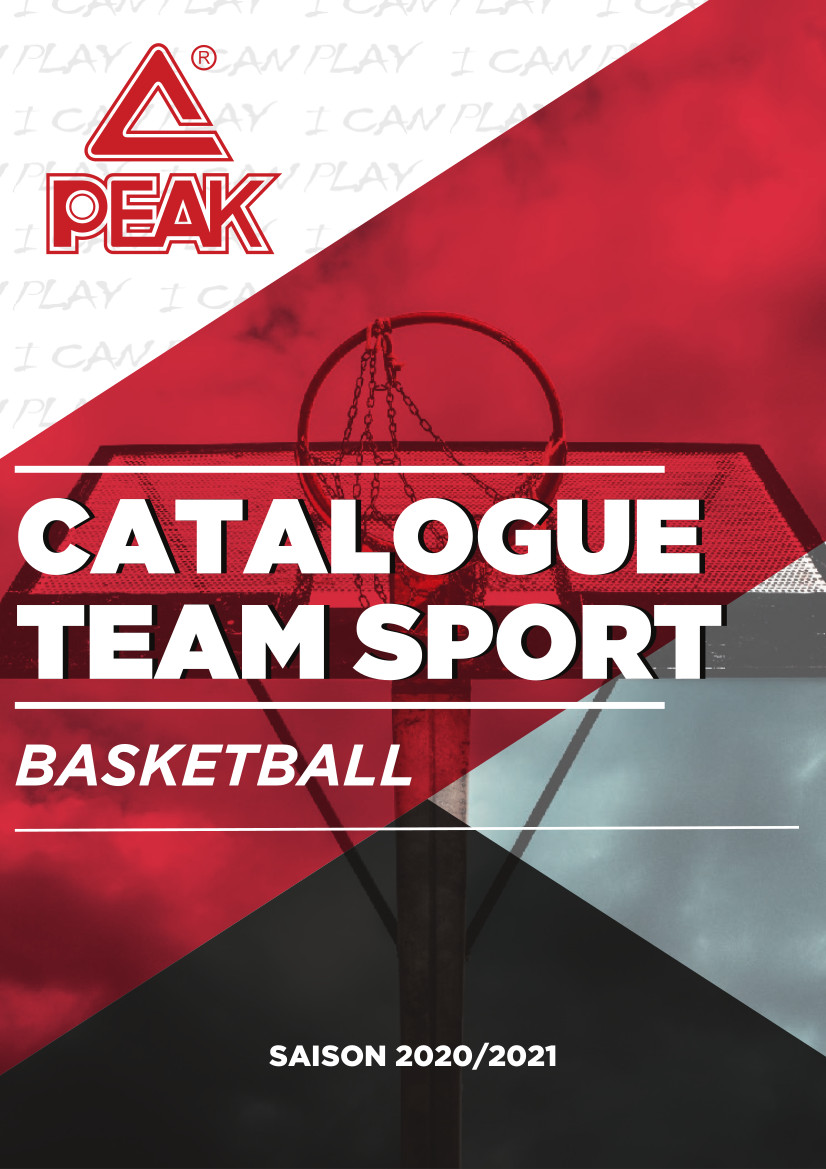 Catalogue Peak Club 2020 | Catalogue Peak Basket | CLUB-SHOP.fr