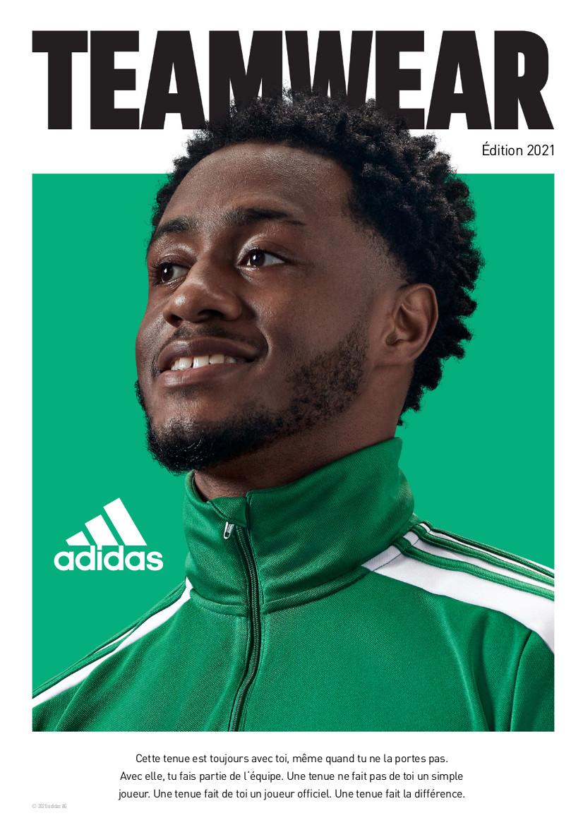 Catalogue Adidas 2021 | Catalogue Adidas Pour Club De Foot | CLUB-SHOP.fr