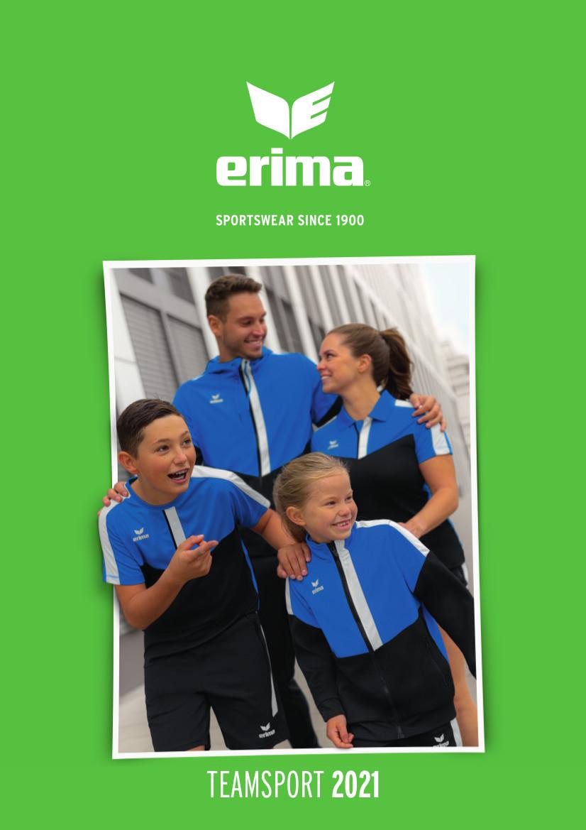 Catalogue Erima 2021 | Catalogue Erima En Ligne | CLUB-SHOP.fr