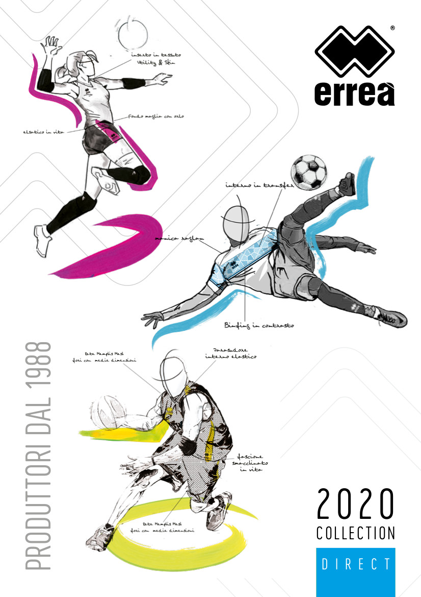 Catalogue Errea 2020 | Catalogue En Ligne Errea | CLUB-SHOP.fr